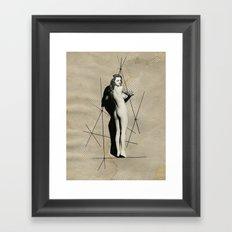 nude, no. 19 Framed Art Print