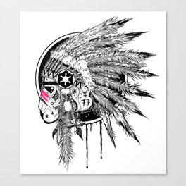 Headshot ! Canvas Print