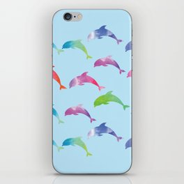 Dolphins iPhone Skin