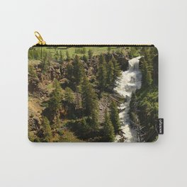 Undine Falls Yellowstone N P Carry-All Pouch