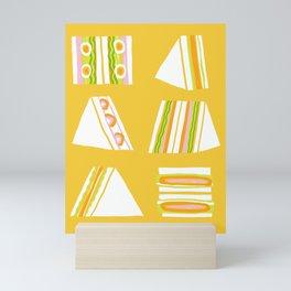 Sandwiches Mini Art Print
