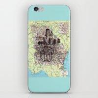 georgia iPhone & iPod Skins featuring Georgia by Ursula Rodgers
