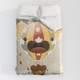 Chestnut Girl Balloon!!! Comforters