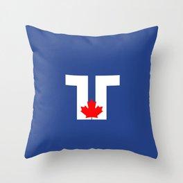 Flag of Toronto Throw Pillow