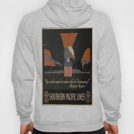 Vintage poster - Southern Pacific Hoody