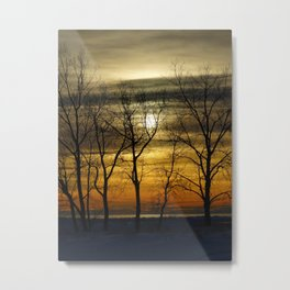 Sunset time Metal Print