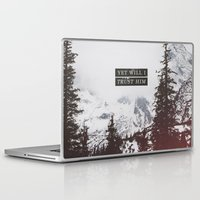 pocketfuel Laptop & iPad Skins featuring YET WILL I TRUST by Pocket Fuel