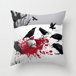 Murder Detail Throw Pillow