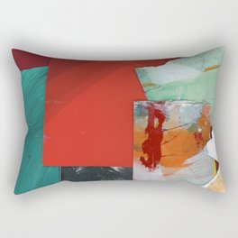 Red Sky Rectangular Pillow