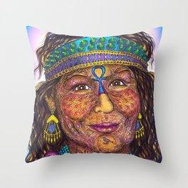 Wisdom Keeper Color #41 (Anticipation) Throw Pillow