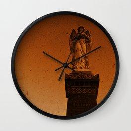 Angels Watch Wall Clock