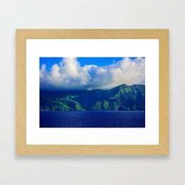 Mysterious Land Framed Art Print