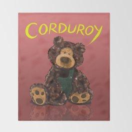 Corduroy Throw Blanket