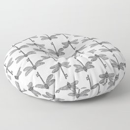 The Dragonfly Key Floor Pillow
