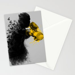 float like butterflies, sting like a bee Stationery Cards