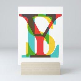 YES Mini Art Print