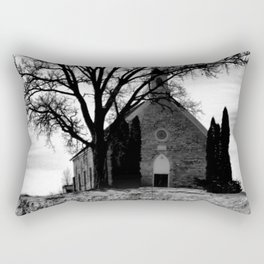 Church in the Country Rectangular Pillow