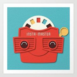Insta-Master Art Print