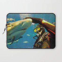 Shark Bite Diving Laptop Sleeve