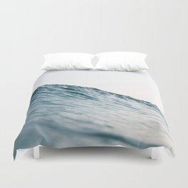 Bright coastal ocean wave Duvet Cover