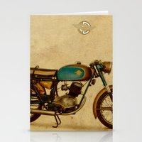 ducati Stationery Cards featuring Ducati 125 Aurea 1958 by Larsson Stevensem