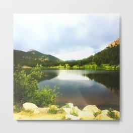 Lily Lake Colorado Metal Print