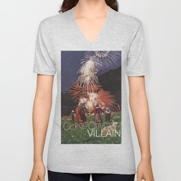 Gunpowder Villain Unisex V-Neck