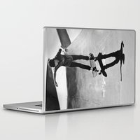 skateboard Laptop & iPad Skins featuring Skateboard by Chiarra Mandato
