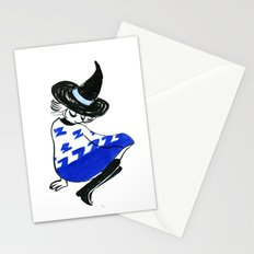 Tired witch Stationery Cards