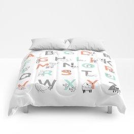Animal Alphabet Comforters