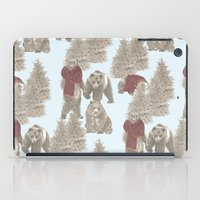 bears iPad Cases featuring Bears  by Ellie Price