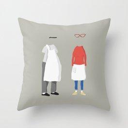 Belchers Throw Pillow