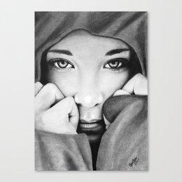 The Storm Siren Canvas Print
