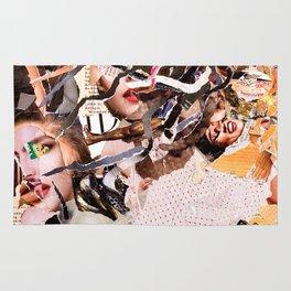 Medusa - Magazine Collage Rug