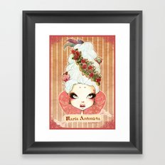 Sweet Maria Antonieta Framed Art Print
