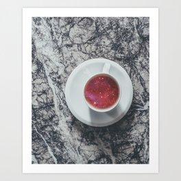 COFFEE PORTAL TO THE UNIVERSE Art Print