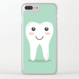 Cute Teeth Clear iPhone Case
