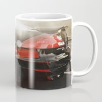 honda Mugs featuring 2007 Honda Accord 2 by Aaron Acosta