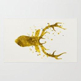 Gold Deer Rug