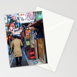 Memory Lane Tokyo Spring Stationery Cards