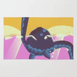 Cute Monster Swimming Rug