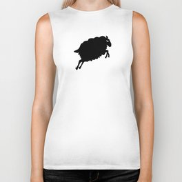 Angry Animals: Sheep Biker Tank