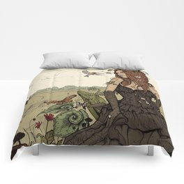 Twists and Turns Comforters