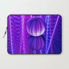 crystal ball reflect in red and blue. Laptop Sleeve