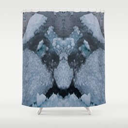 Icy Troll Shower Curtain