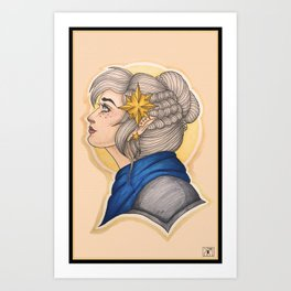 Pike: The Gnome Cleric Art Print