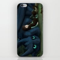 how to train your dragon iPhone & iPod Skins featuring How to train your Dragon by amanda.scopel