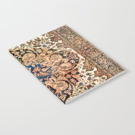 Ferahan Arak  Antique West Persian Rug Notebook
