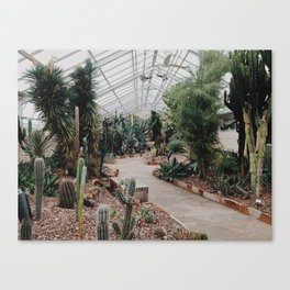 Rawlings Conservatory Canvas Print