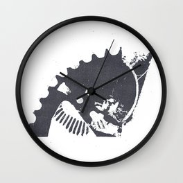 Industrial II Wall Clock